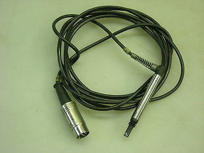 Sheffield 60113815 0488 LVDT Probe Transducer Rt Angle Connection 6 Pin