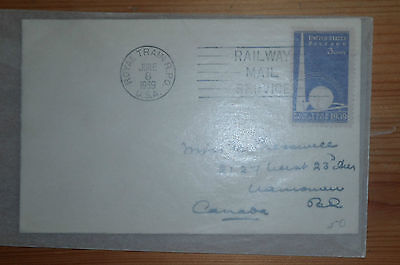 1 USA United States Post First Day Cover Day Of Issue 1939 NEW YORK WORLD's FAIR