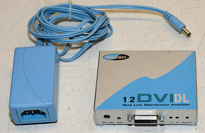 Gefen 1:2 DVIDL Dual Link Distribution Amplifier & Power Supply
