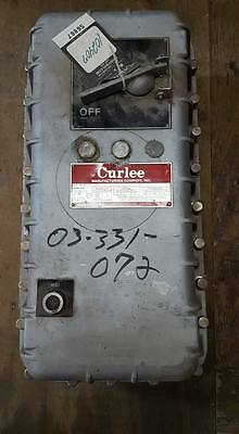 Curlee Cm 310B724Amaa Explosion Proof Combination Motor Starter Box Only  W18