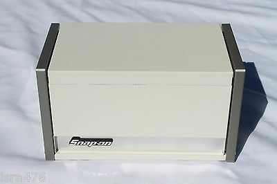 Snap On White Mini Micro Top Chest Tool Box Rare Brand New