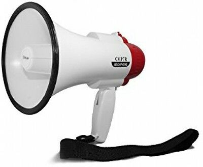 NEW Professional/Pro Handheld Megaphone/Bullhorn With Siren And Voice Recorder