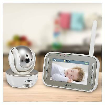 VTech Safe&Sound® VM343 Expandable Digital Video Baby Monitor with Pan &...