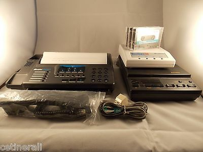 Vintage Muratec M620 Fax with PhoneMate 7400 Dual Cassette Answering Machine