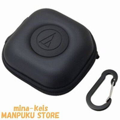 Audio-technica In-ear Headphone Carrying Case AT-HPP300 BK F/S with tracking NEW