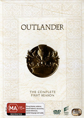 Outlander: Season 1  - DVD - NEW Region 4, 2