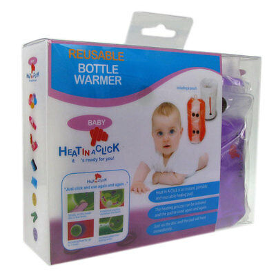 Heat in a Click Bottle Warmer Heats Baby Food to Ideal Feeding Temperature
