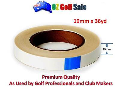 "2cm (3/4"") x 50yard Double Sided Golf Grip Tape Tapes Solvent Activated"