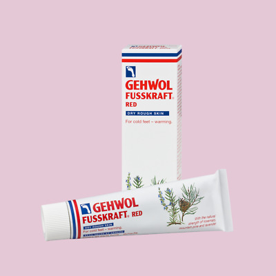 Gehwol Fusskraft Foot Creams - Red, Blue and Green - Chiropody Podiatry Creams