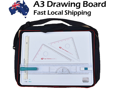 High Quality Noble Brand New A3 Drawing Board with SET SQUARE,CarryBag&CartonBox