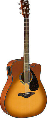 Yamaha FGX800C SDB Acoustic Electric Guitar (Sand Burst)