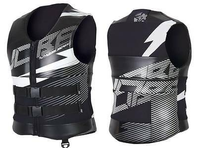 Jobe Ruthless Series Back Support Vest Mens Buoyancy Aid Jetski Wakeboard