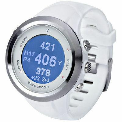 Voice Caddie T2 GPS Golf & Fitness Watch Metres or Yards. Discount price.