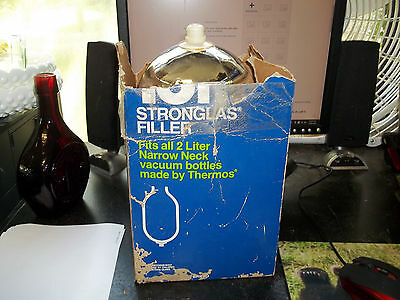 THERMOS Brand NOS 18F Stronglas Filler 2L Narrow Neck Replacement flask- Vintage
