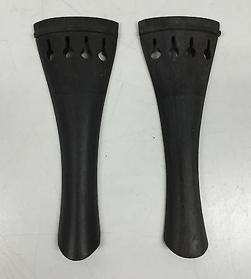 Ebony Violin Tailpieces - ½ size, 2-Pack