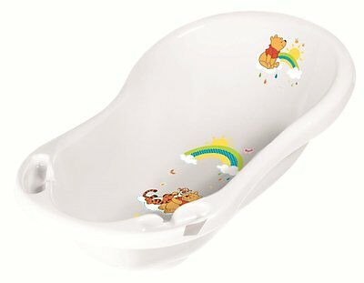 Baby Bath Tub Disney Winnie The Pooh Bath for Newborn (White) NEW