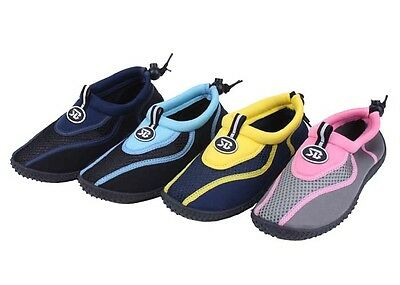 New Kids Youth Athletic Mesh Water Shoes Aqua Socks Pool and Beach Swim Shoes