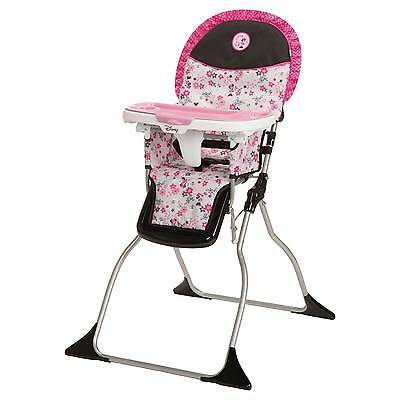 Disney Simple Fold Plus High Chair - Minnie Garden Delight
