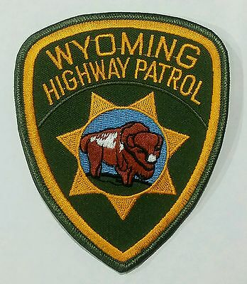 Wyoming Highway Patrol -- Embroidered Patch  New