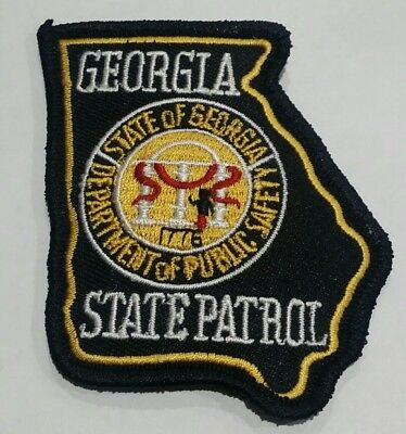 NEBRASKA STATE PATROL Embroidered Patches