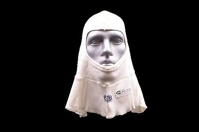 Rjs Racing Equipment Sfi 3.3 Full Face Head Sock Hood White Single Layer