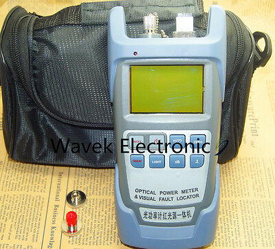 Latest All-in-One Fiber Optical Power Meter & 10-12km 10mW Visual Fault Locator