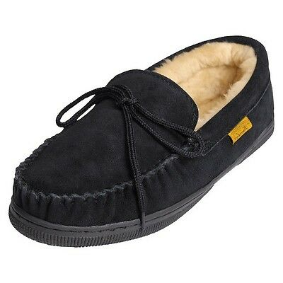 Men's Brumby® Suede Moccasin Slippers
