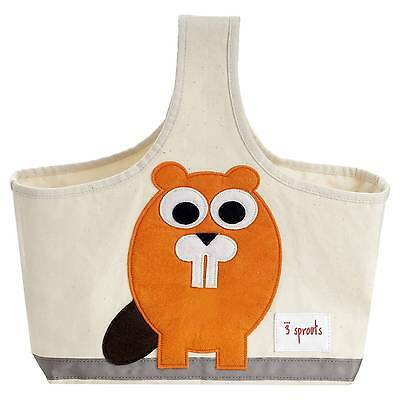 3 Sprouts Fabric Storage Caddy - Beaver