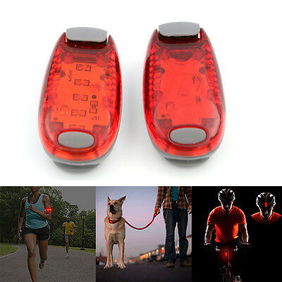 LED Safety Night Light Dog Collar Clip On Wristband for Runners Joggers Cyclists