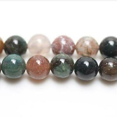 Fancy Jasper Round Beads 10mm Mixed 38+ Pcs Gemstones Jewellery Making Crafts