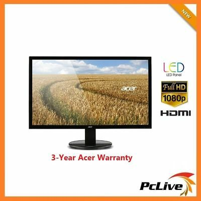 "27"" Acer K272HL FULL HD LED Monitor HDMI 1080p 100M:1 VA Wide Screen DVI VGA"