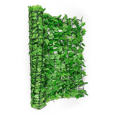 3 M X 1.5 M Privacy Wind Screen Shade Ivy Leaf Fence Wall Terrace Mesh *freep&p*