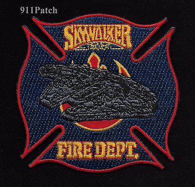 SKY WALKER RANCH, Nicasio, CA - Skywalker Fire Department FIREFIGHTER Patch
