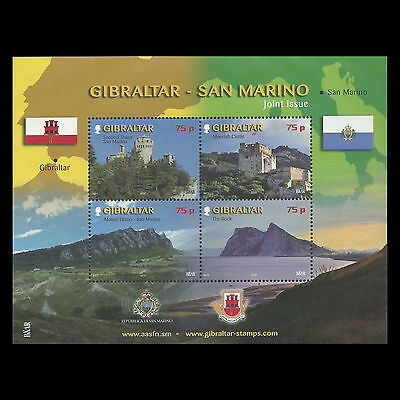 Gibraltar 2010 - Tourism Joint Issue Architecture Castle - Sc 1237 MNH