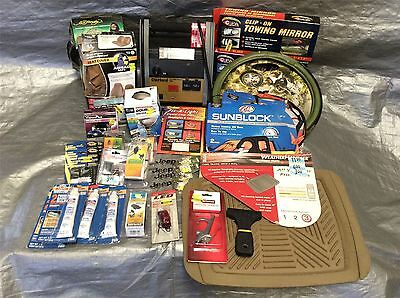 Wholesale Lot of Assorted Automotive Accessories, Mixed Lot of Approx. 33 Items