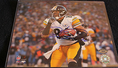 Steelers Hines Ward Signed Authentic 8X10 Photo Autographed