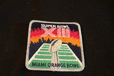 Superbowl Xiii Patch 1979