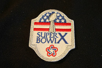 Superbowl X Patch From 1976