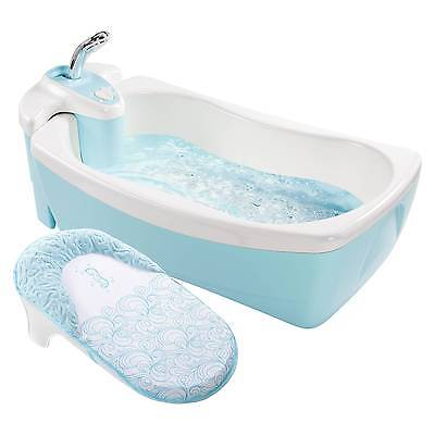 Summer Infant® Lil' Luxuries® Whirlpool, Bubbling Spa & Shower (Blue)