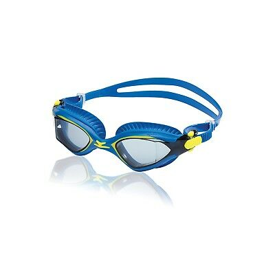 Speedo Fitness MDR 2.4 Swimming Anti Fog Goggles Imperial Blue Sulphur Spring