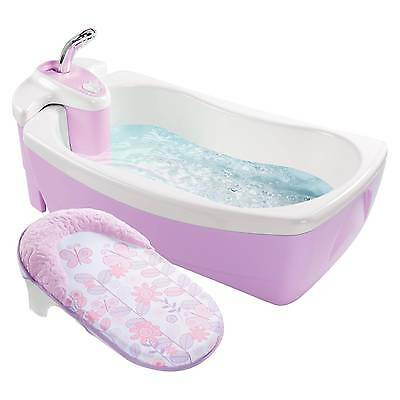 Summer Infant® Lil' Luxuries® WhirlpoolBubbling Spa & Shower (Pink)