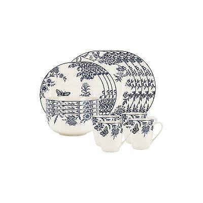 Kathy Ireland Home Blue Bayou 16pc Dinnerware Set  sc 1 st  PicClick & KATHY IRELAND Home Blue Bayou 16pc Dinnerware Set - $69.95 | PicClick
