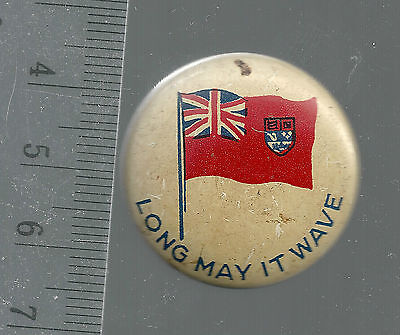 Vintage Lapel L.j. Imber Quality Products Chicago Ill Canadian Flag