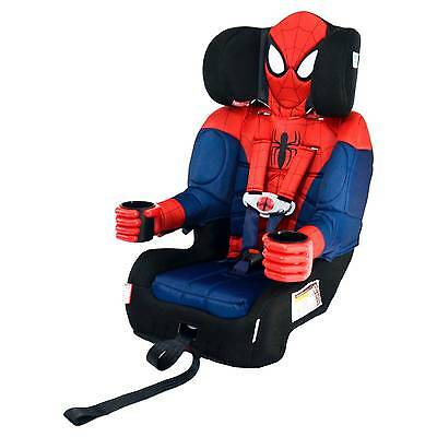 KidsEmbrace Friendship Combination Booster Car Seat – Marvel Ultimate Spider-Man