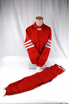 Rjs Racing Sfi 3-2A/1 Classic 2 Pc Suit Fire Suit Red Size Adult Xs