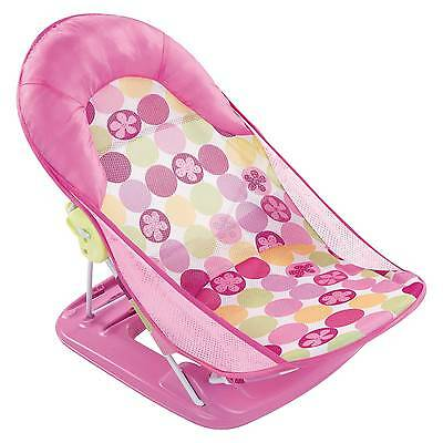 Summer Infant® Deluxe Baby Bather - Pink Circle Daisy