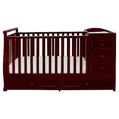 Mikaila Presley 3-in-1 Crib and Changer Combo
