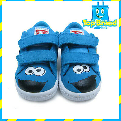 PUMA SESAME STREET Infant/Toddler/Little Kid Classic shoes Boys COOKIE MONSTER
