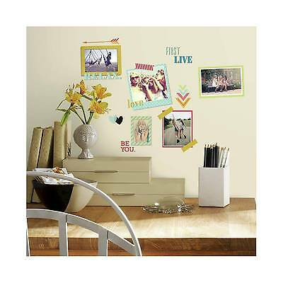 RoomMates BFF Frames Peel and Stick Wall Decals