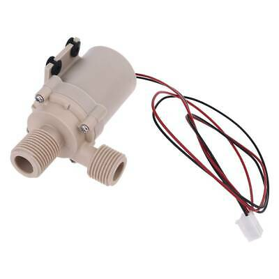 DC New 12V/24V Solar Hot Water Circulation Pump Brushless Motor 5M 3M Water Pump
